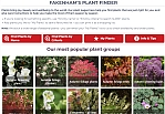 Plant Finder 2 Home page thumbnail