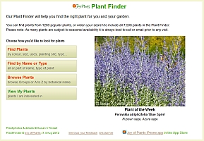 Joy of Plants Plant finder
